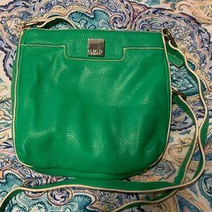 Green Lulu purse